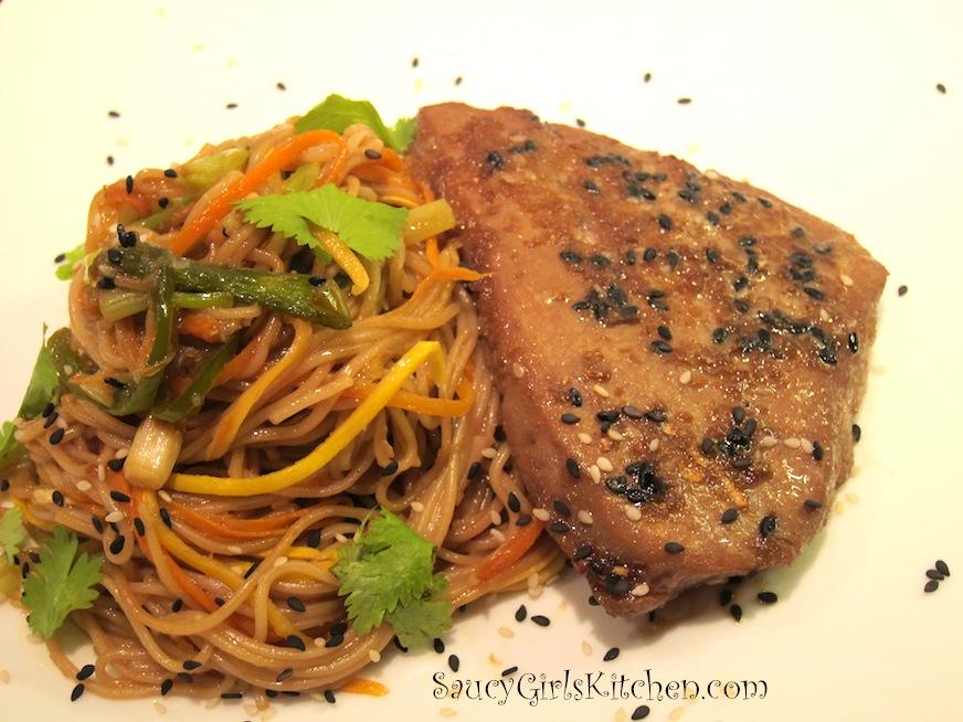 Seared Tuna With Wasabi-Butter Sauce Recipes — Dishmaps