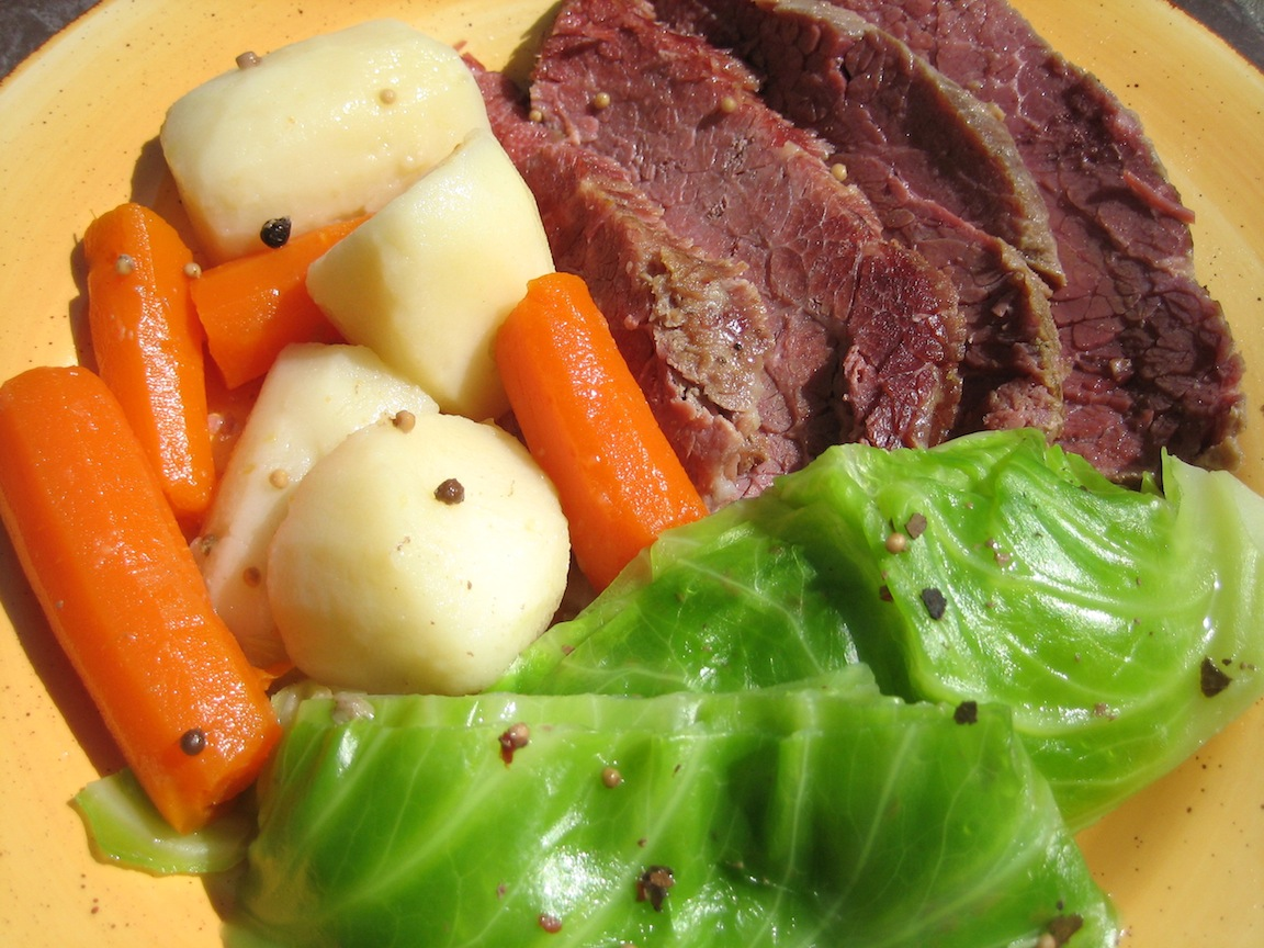 Corned Beef and Cabbage | Great food ~ it's really not that ...