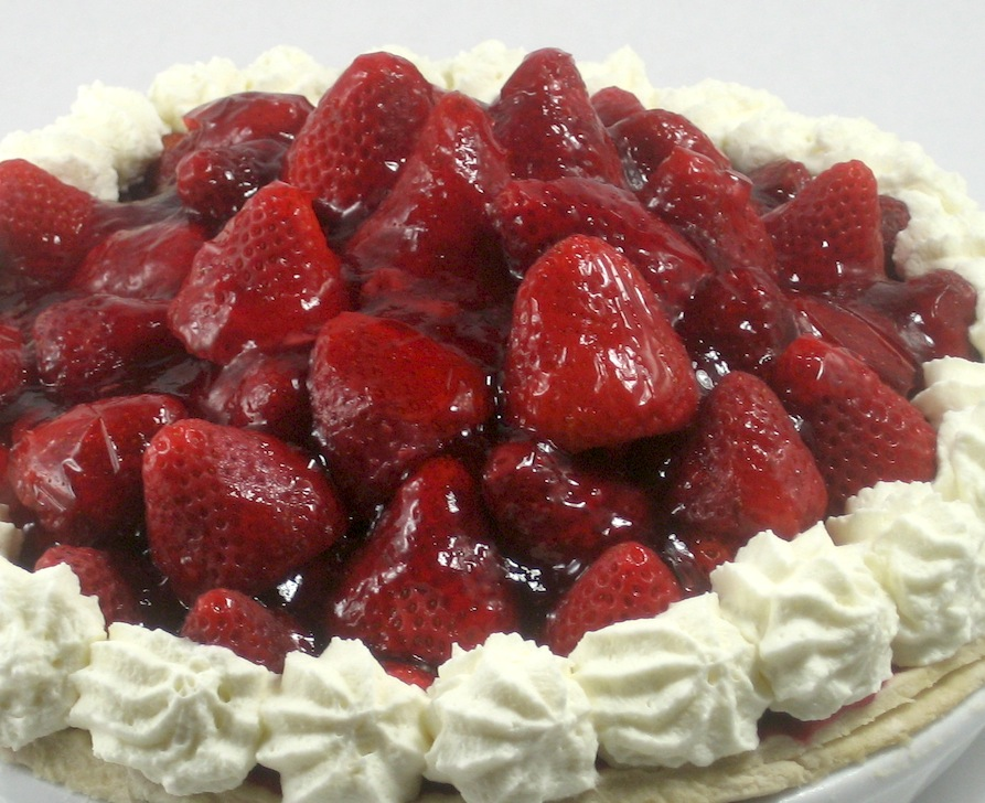 Sweet Strawberry Pie Recipe — Dishmaps