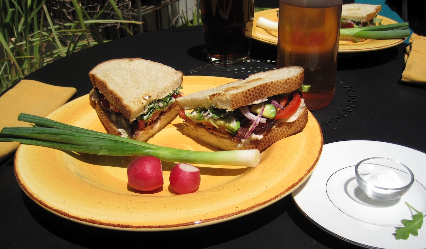 Super Club Sandwich for lunch