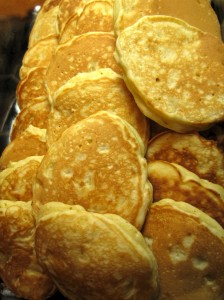 Lots of corn cakes