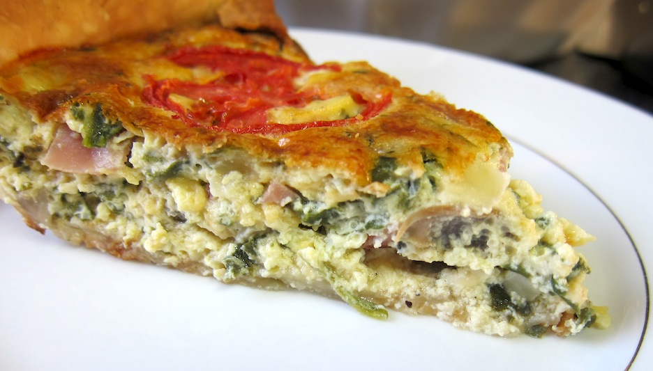 Piece of Quiche 1