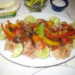 Fish with Peppers & Lime