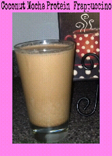 Coconut Mocha Protein Frappuccino