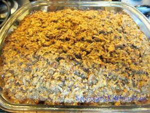 Oatmeal Cake fresh outta the oven