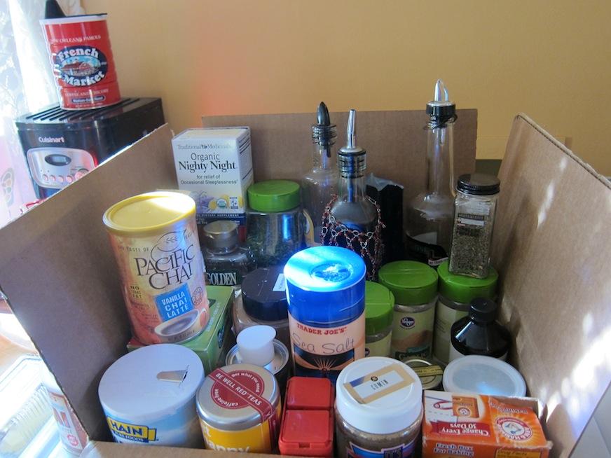 Box of essentials