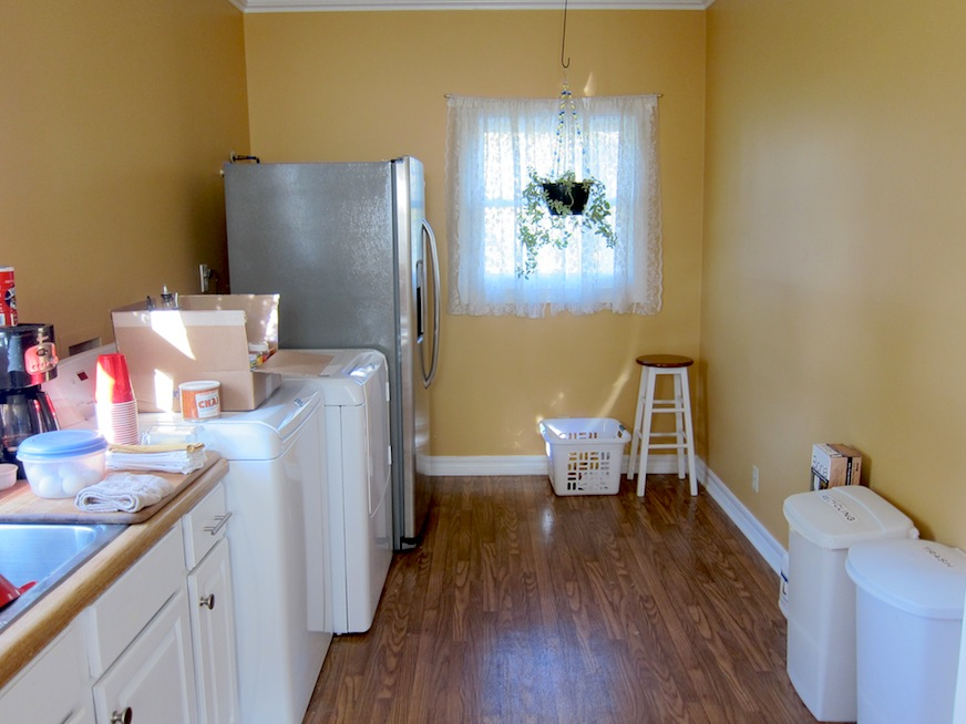 Laundry Room before cabinets 1