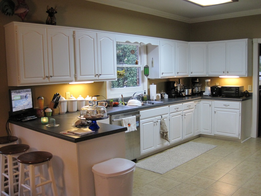 Kitchen before pic 2