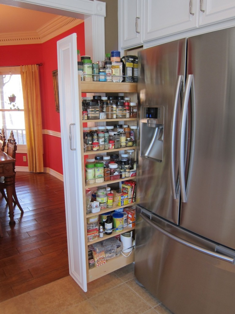 Pull out spice rack | Great food ~ it's really not that complicated!