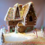 Gingerbread House pic for Christmas Cards