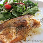 Tilapia with Berbere Butter