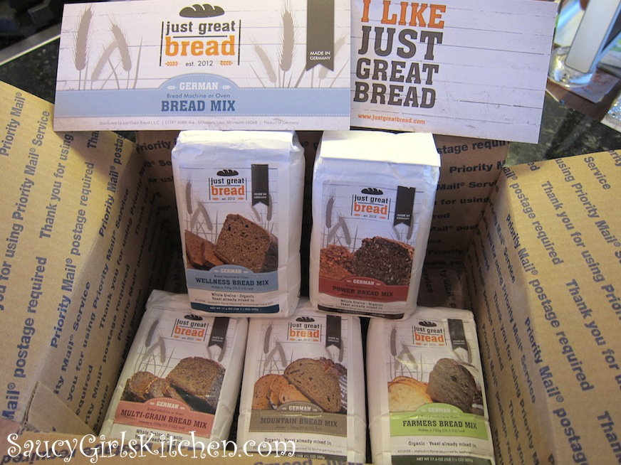 Just Great Bread mixes