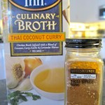 College Inn Broth and World Market Thai Spice Blend