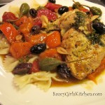 Mediterranean Baked Chicken for 2