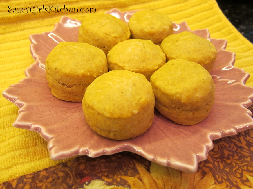 Plate of Pumpkin Biscuits