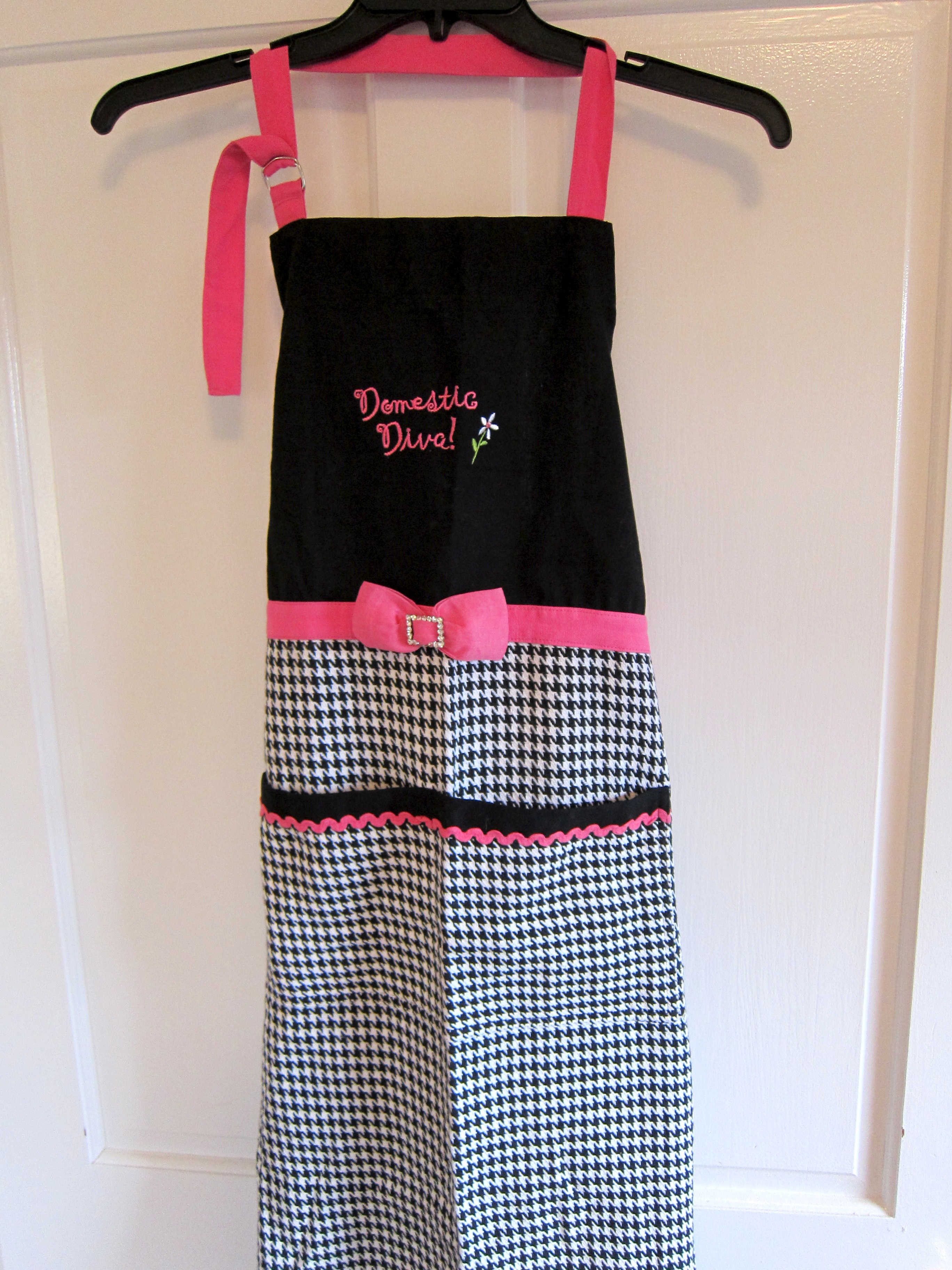 Front view of Delicious Diva Apron