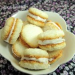Coconut Cream Sandwich Cookies