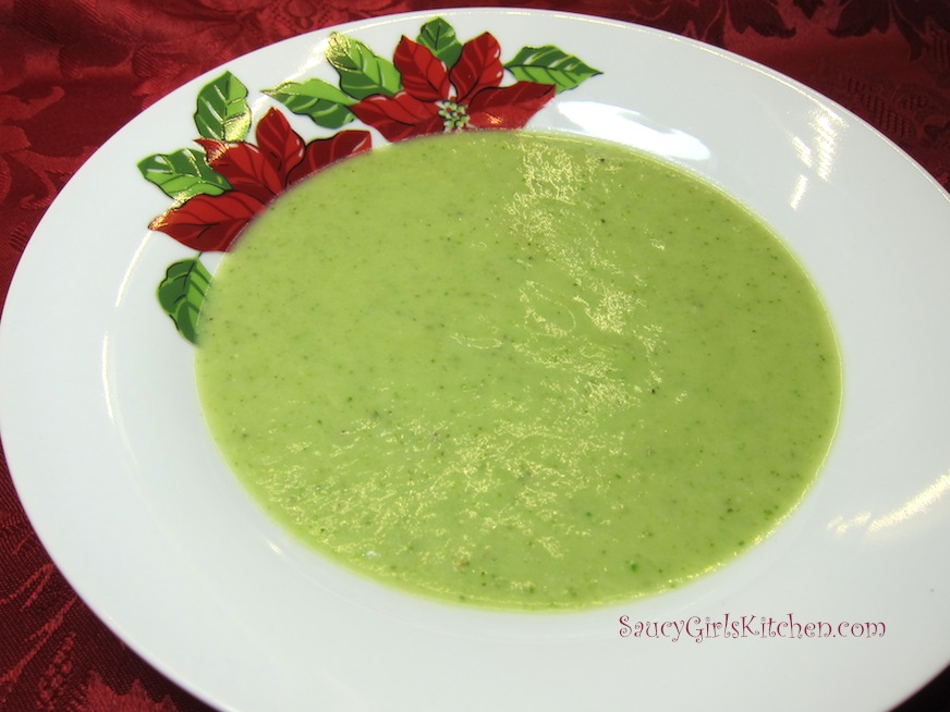Homemade Broccoli Soup