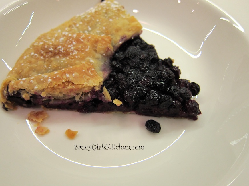 Piece of Blueberry Crostata